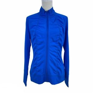 Exertek Lightweight Ruched Mesh Jacket
